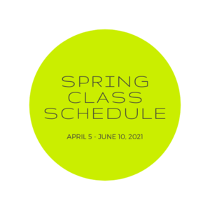 Spring Class Announcement
