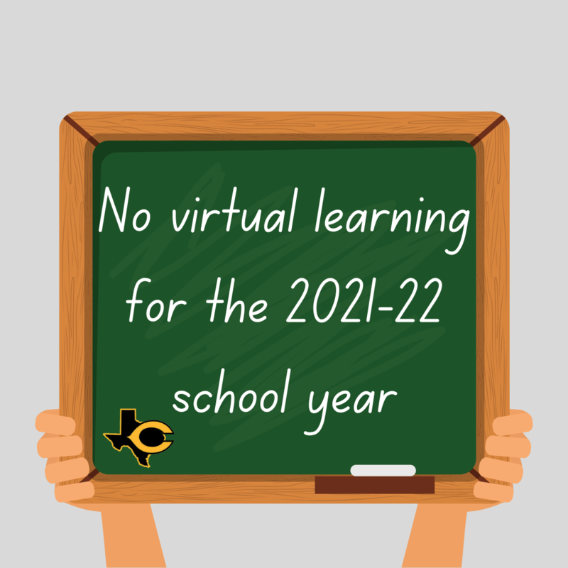 No Virtual Learning for the 2021-22 School Year Featured Photo