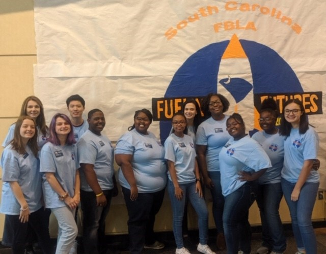 Cheraw High students attend FBLA State Leadership Rally Featured Photo