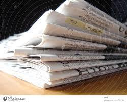 photo of newspaper