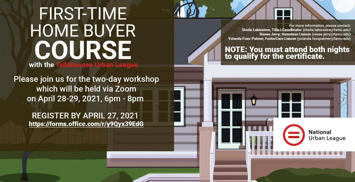 First Time Homebuyer Course April 2021 Flyer