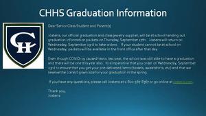 CHHS Jostens Information