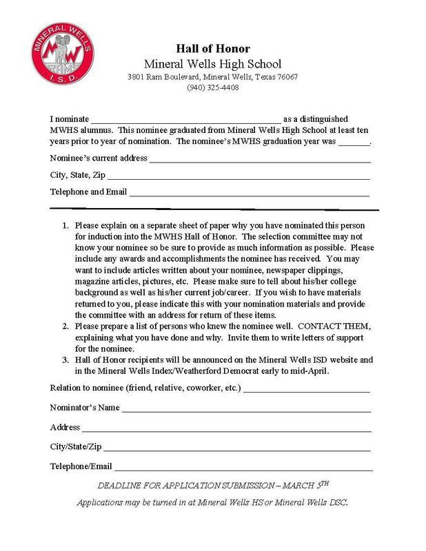 application form for alumni
