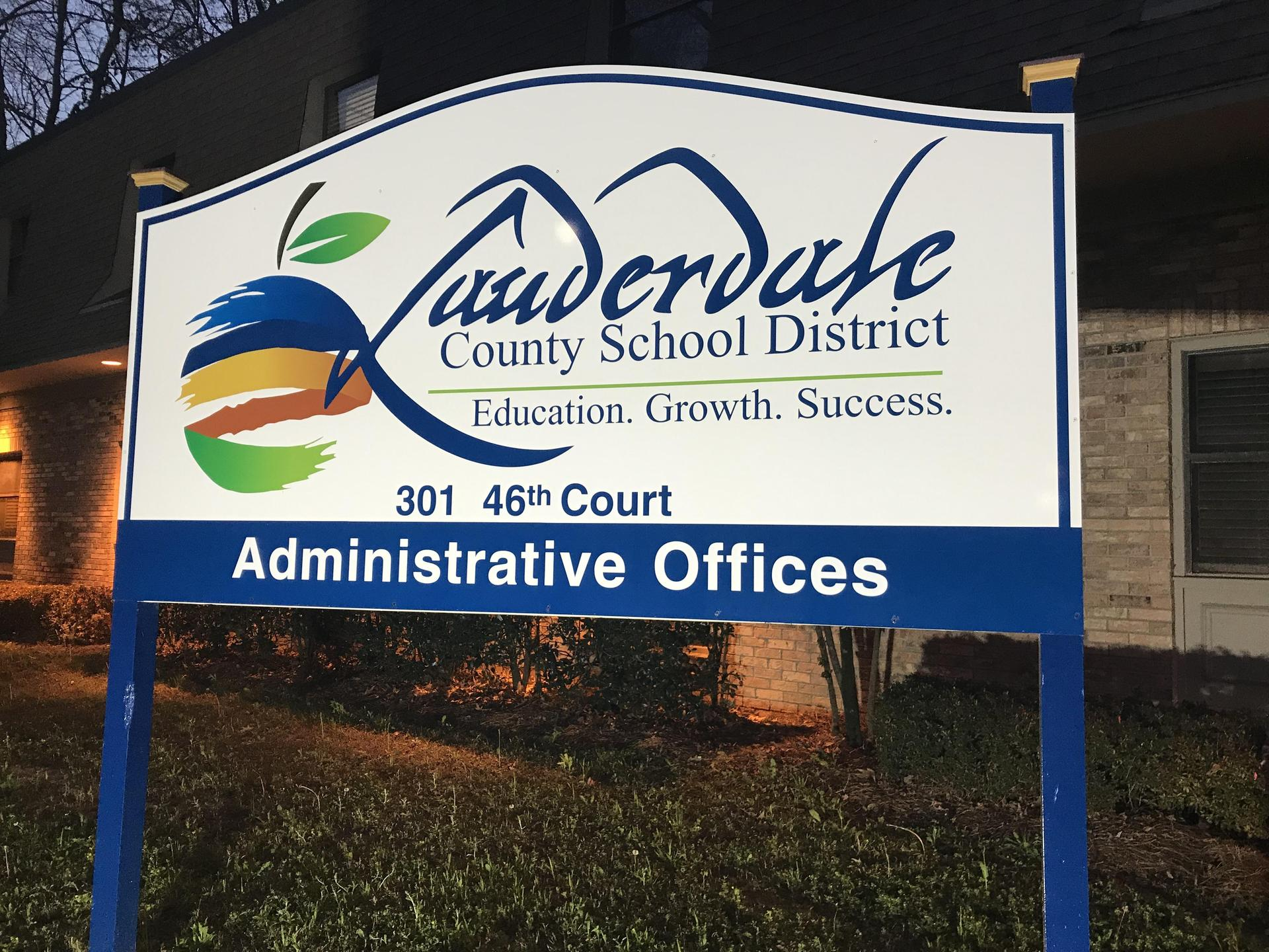 LCSD Central Services Outdoor Sign