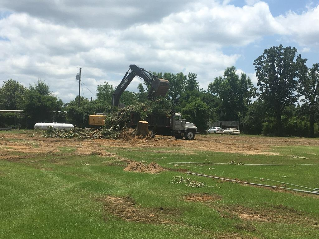 Driveway construction equipment