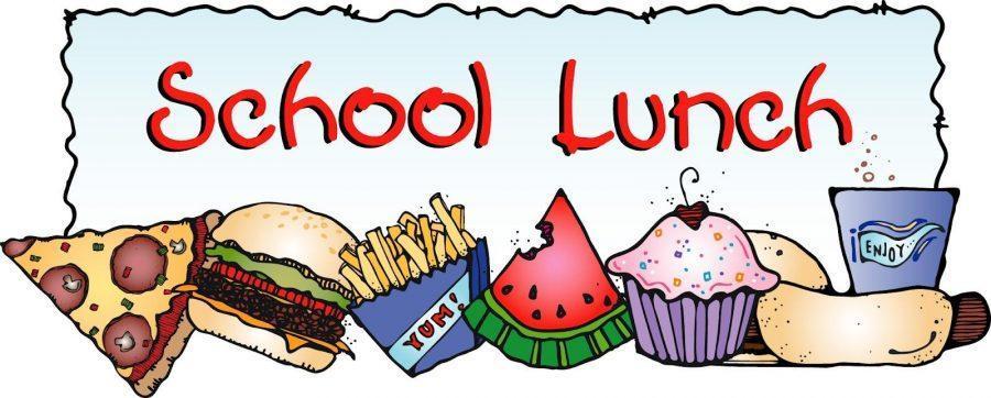 School lunch menu clickable link
