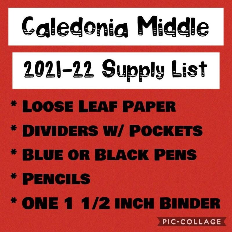 CNS Supply List