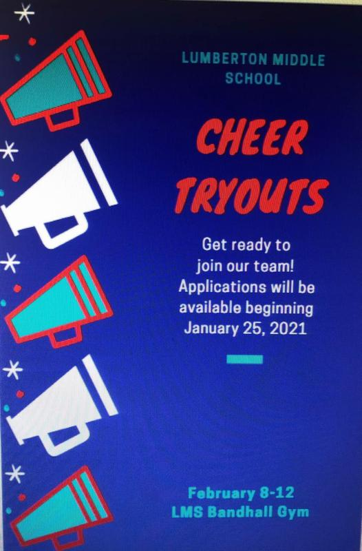 LMS Cheer Tryouts