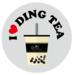 I love Ding Tea logo