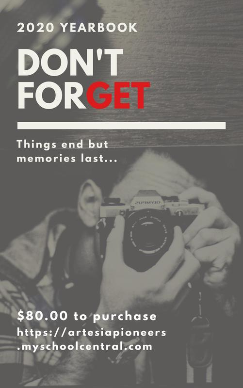 Don't forget to buy your yearbook!