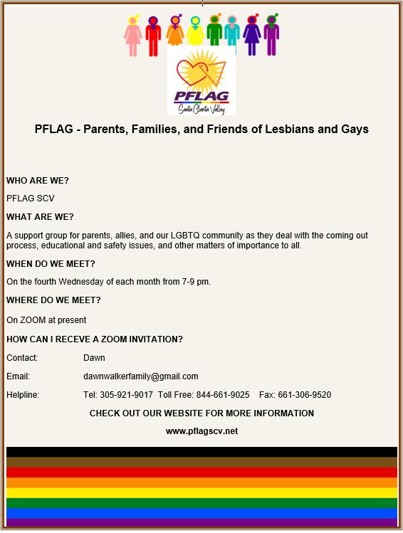 PFLAG Flyer