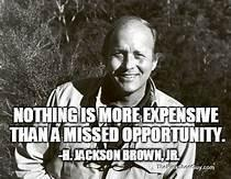 look for opportunities
