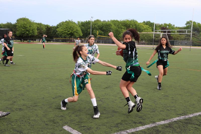Maspeth High School Green Machine Weathers Storm In 26-6 Win vs New Dorp Featured Photo