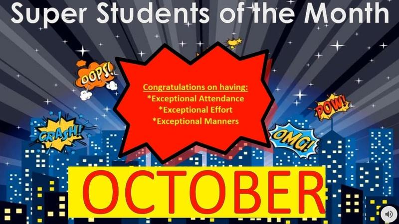October Superheroes of the Month Featured Photo