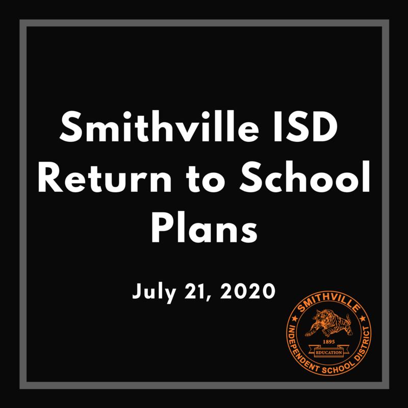 SISD Return to School Plans