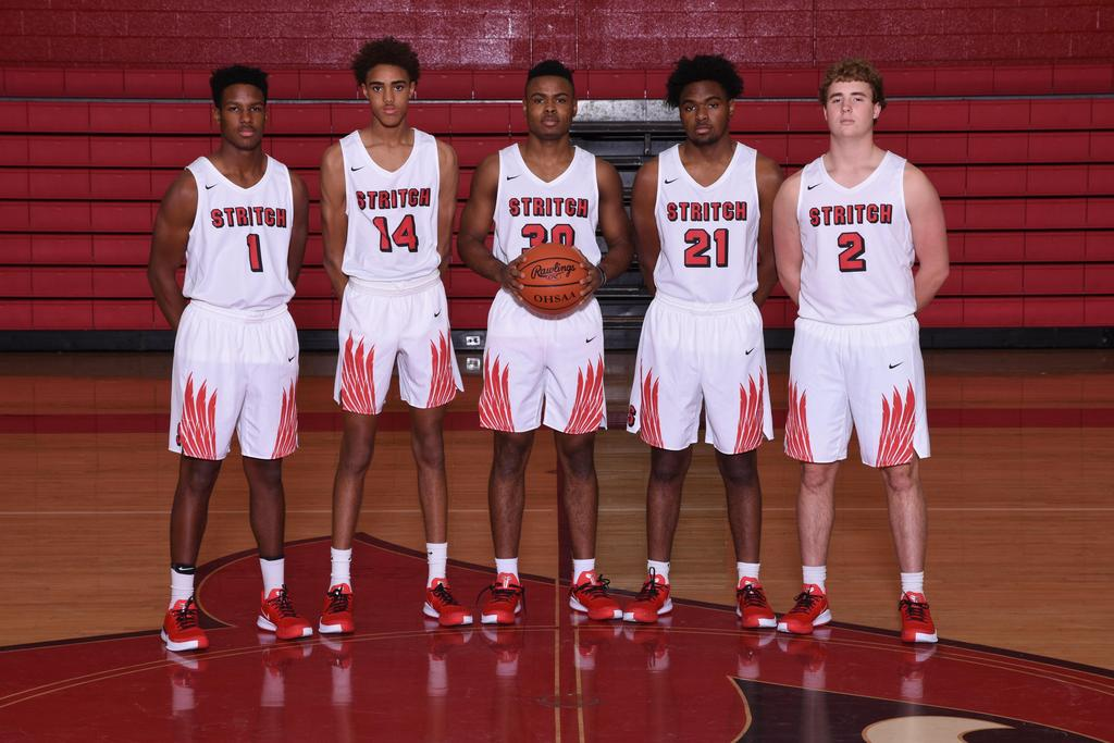 Senior 2019-2020 Varsity Basketball Players