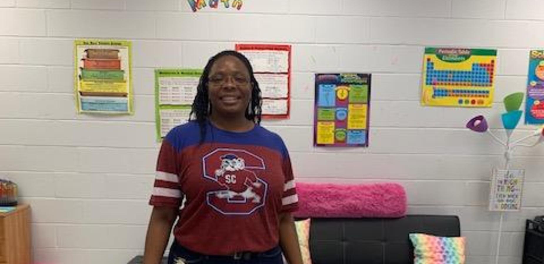 Mrs. Pauling representing SC State University