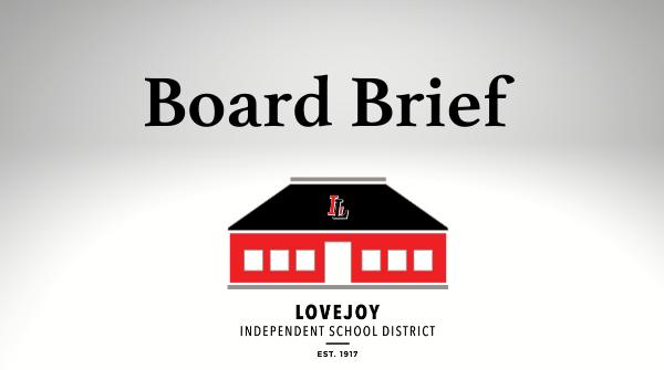 Board Brief: April 25, 2021 Featured Photo