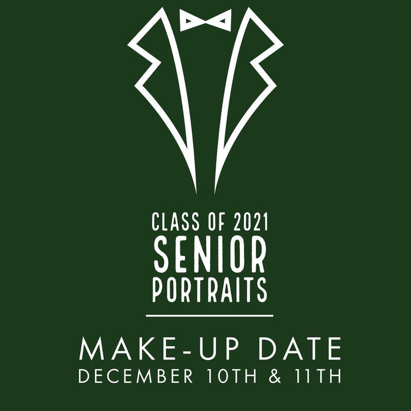 Senior Portrait Makeup Dates Thumbnail Image