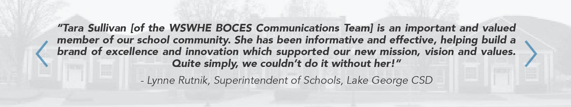 Communications Team testimonials