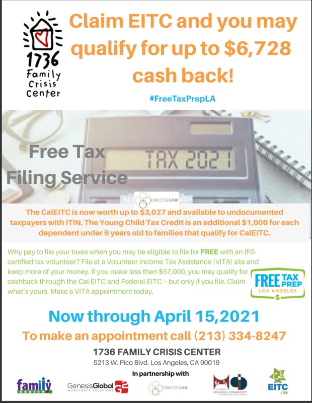 Free Tax Filing Service (Click on lInk for Details) Featured Photo