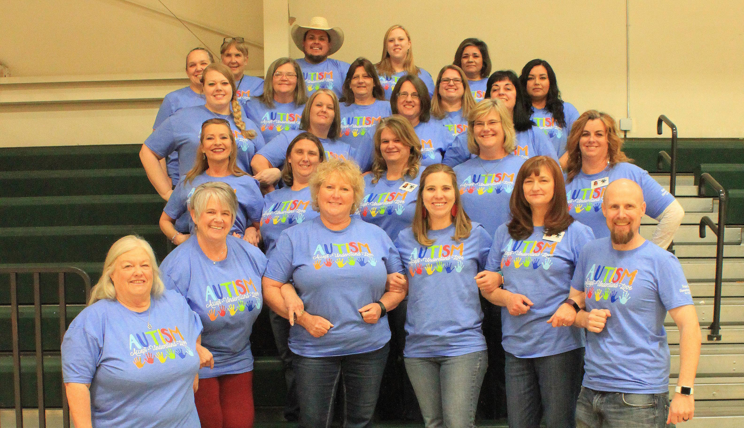 Teachers support Autism Week