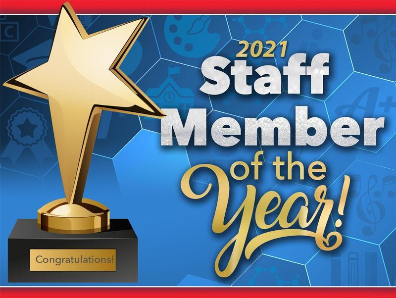 Staff Member Award Graphic
