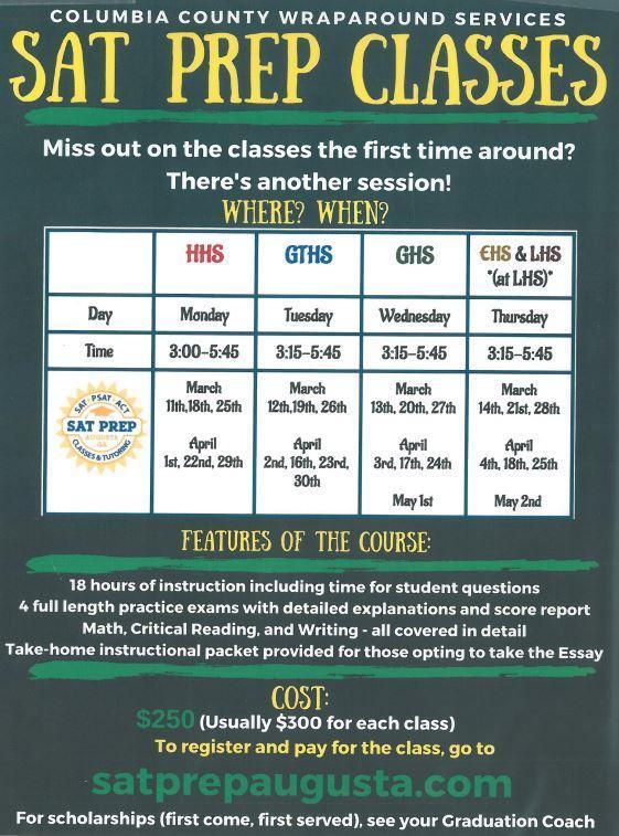 sat classes