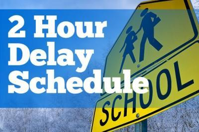 2 HOUR DELAY - Today, January 18, 2019 Featured Photo