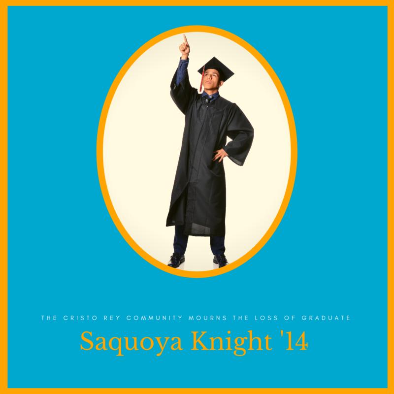 The Cristo Rey Community Mourns the Loss of Graduate Saquoya Knight Thumbnail Image