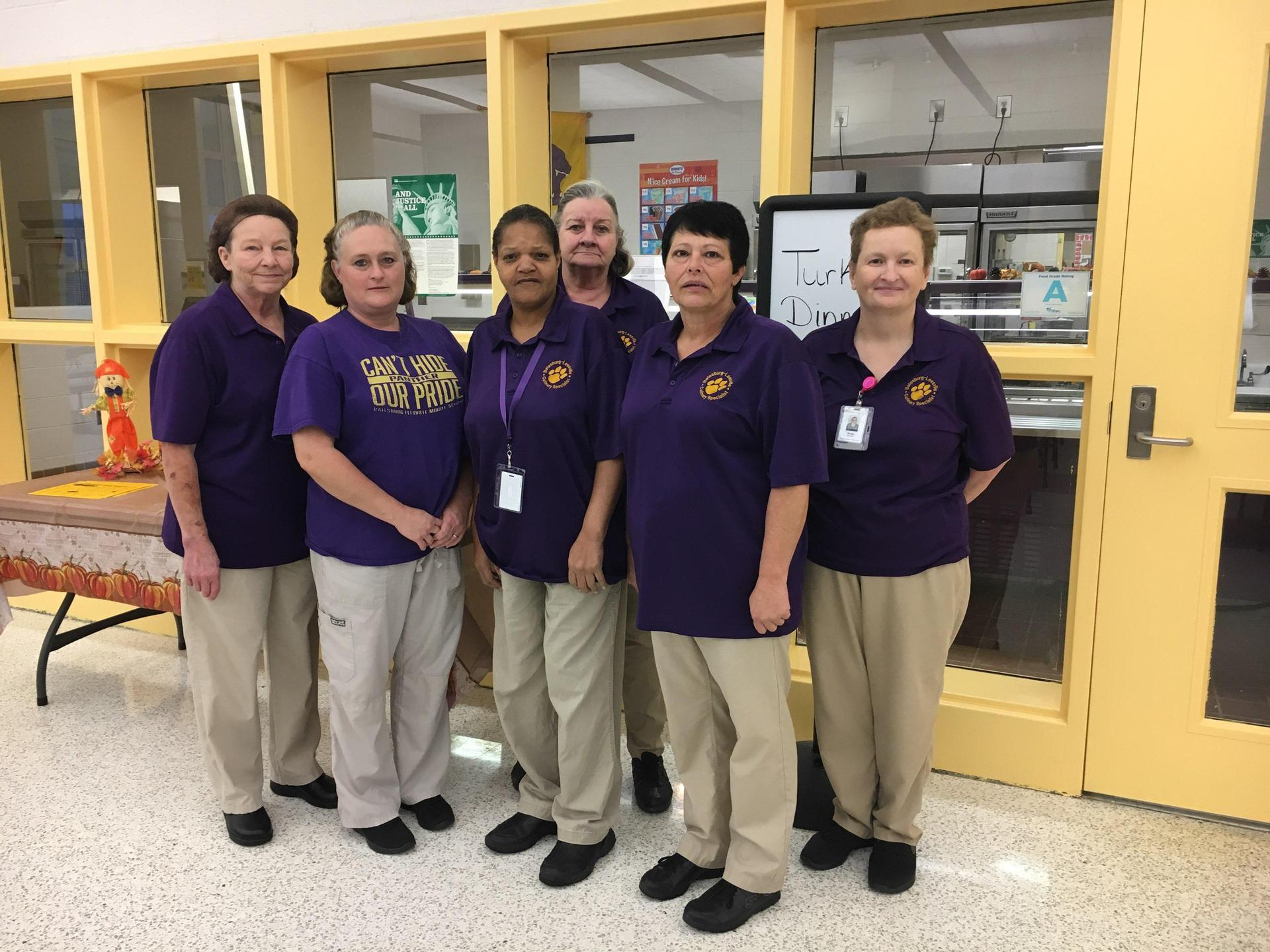 BLMS Cafeteria Staff