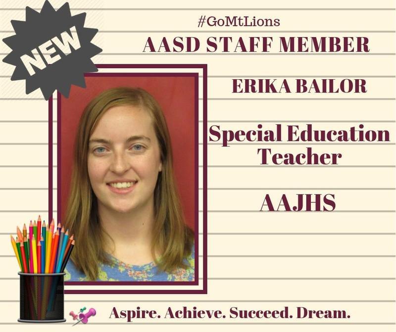 AASD Welcomes Erika Bailor Thumbnail Image