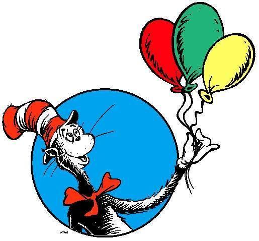 Dr Seuss clipart