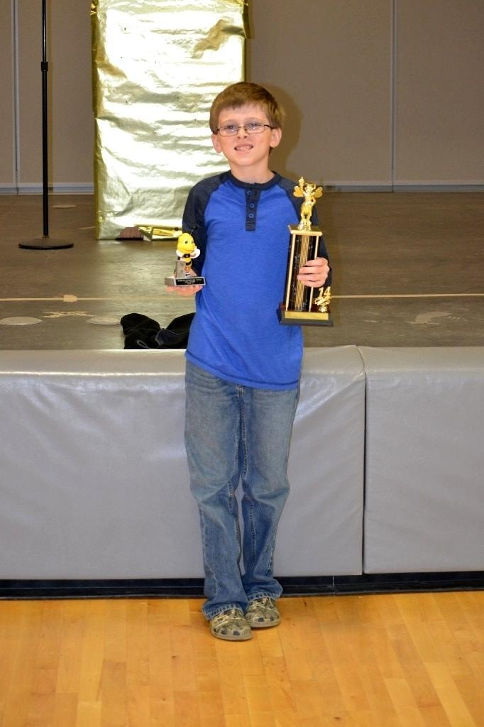 Caleb Smith is a champion speller!