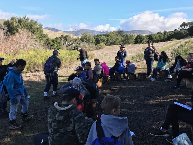 6th grade Science Camp Rancho El Chorro
