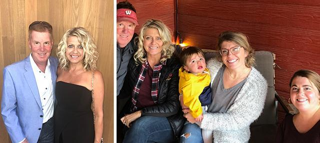 Bill and Juliann (Weimer) Kerley `82 and family