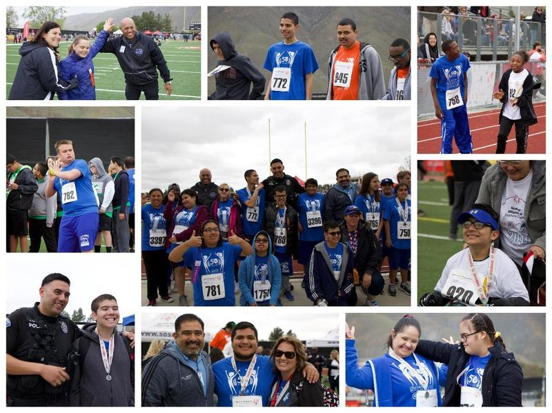 Students Participating in the 2019 Special Olympics