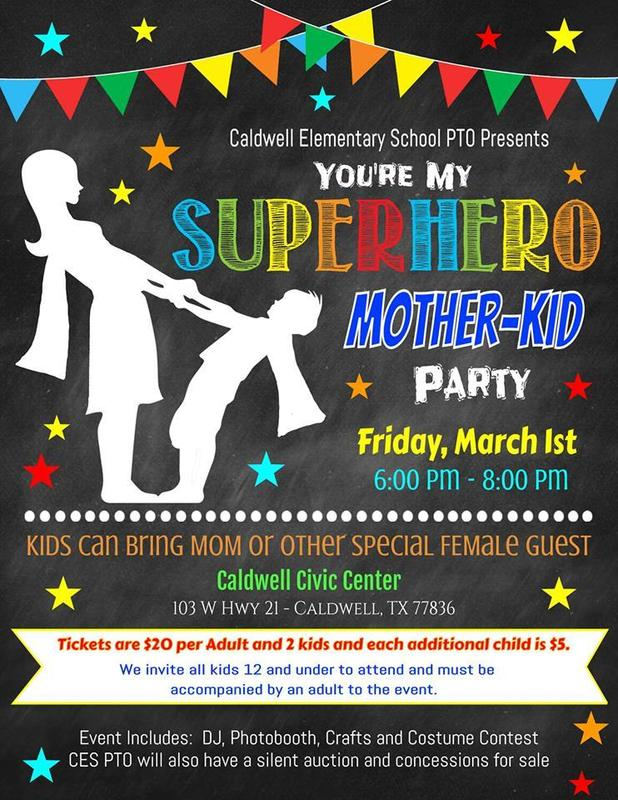 PTO You're My Superhero Mother-Kid Dance Party Featured Photo