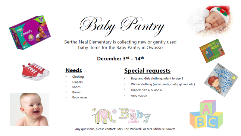 Baby Pantry Donations Featured Photo