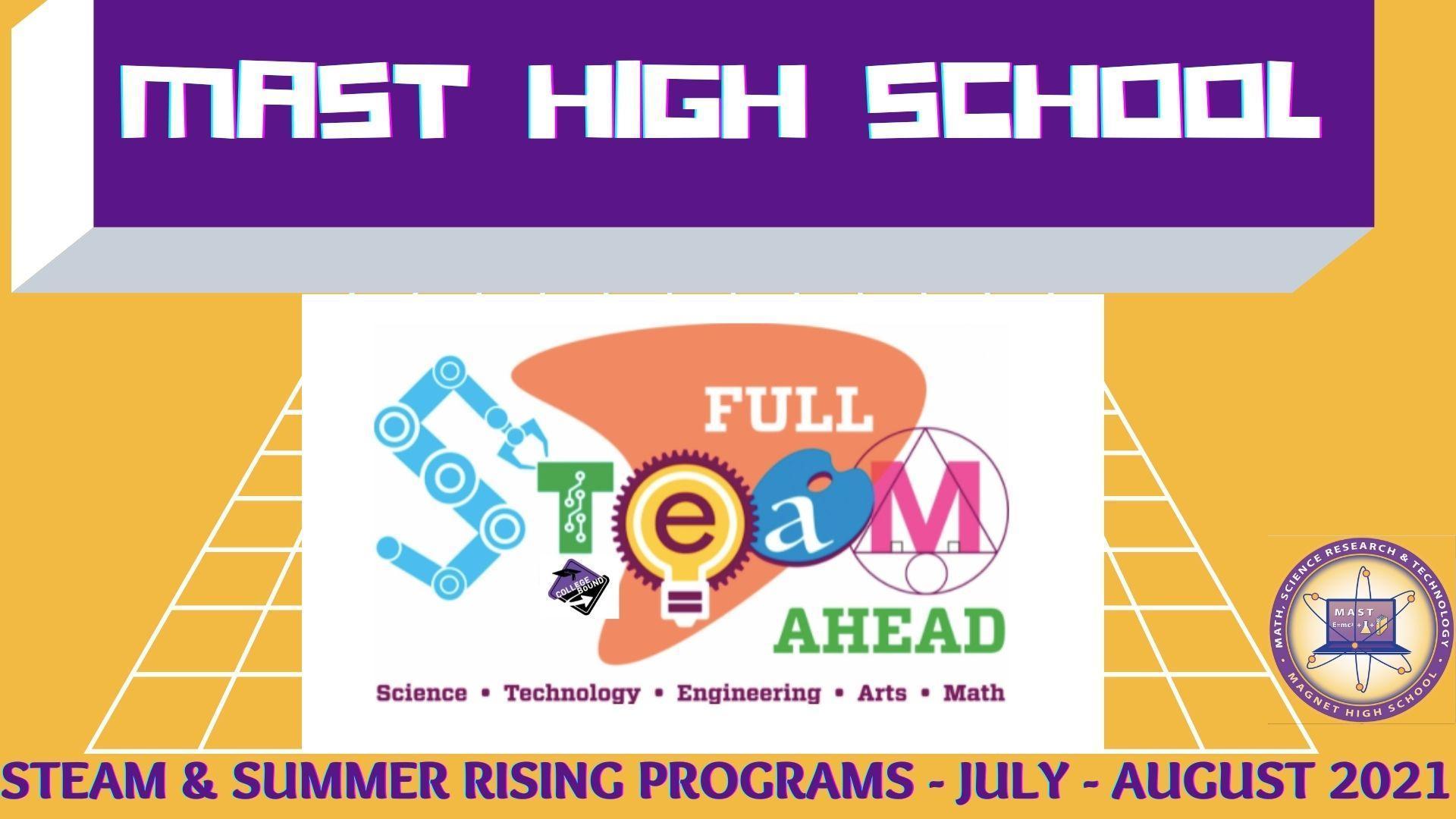 Summer STEAM Programs