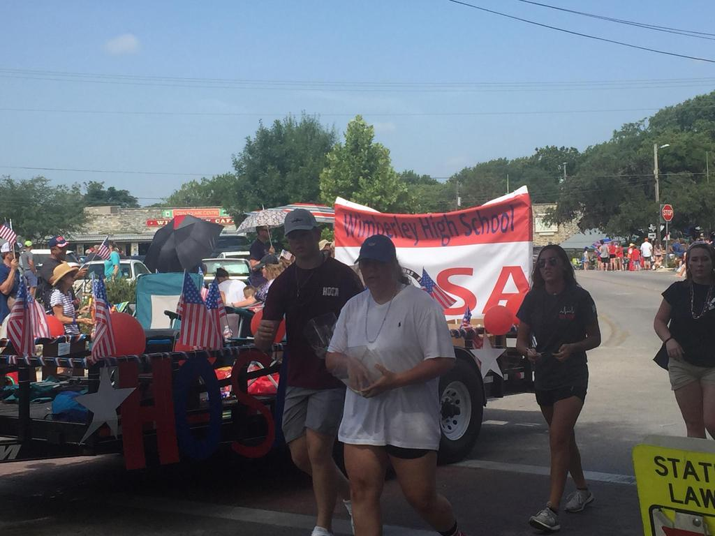 HOSA in 4th of July Parade