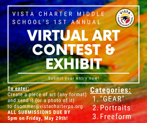 virtual contest & Exhibit flyer