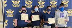 8th grade JROTC students