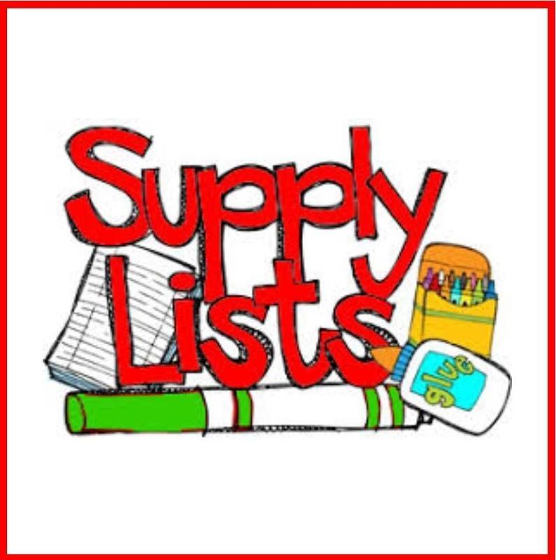 2019-20 School Supply Lists (English & Spanish) Featured Photo
