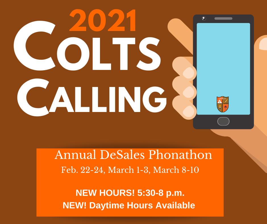 Colts Calling Phonathon