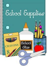 pic of glue, pencils, supply