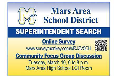 Mars Area School District Superintendent Search