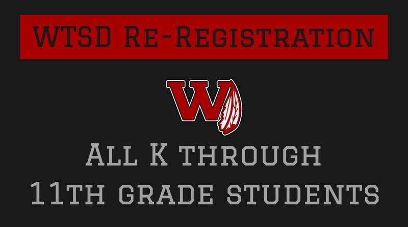 WTSD Re-Registration