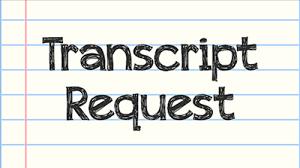 Transcript Request