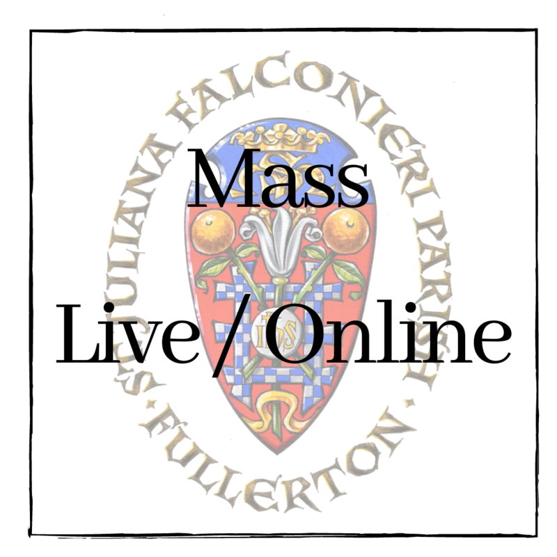 Mass Online / Live Stream Featured Photo